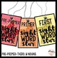 Sight Word Star Brag Tags