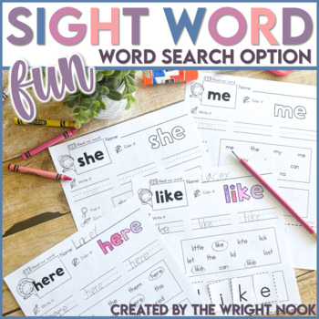 Sight Word Fun!!! (31 WORDS - NO STAMP)