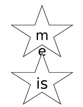 Sight Word Stars