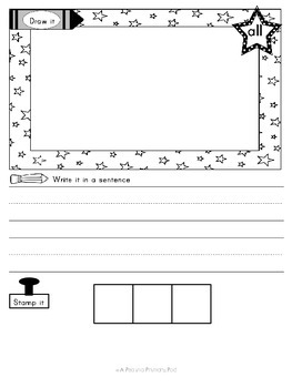Sight Word Practice Primer Edition