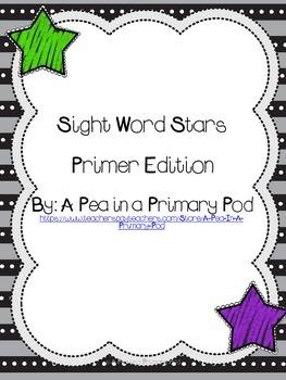 Sight Word Stars Primer Edition