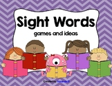Sight Word Station Activities