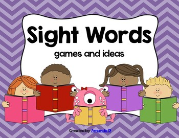 Sight Word Station Activities