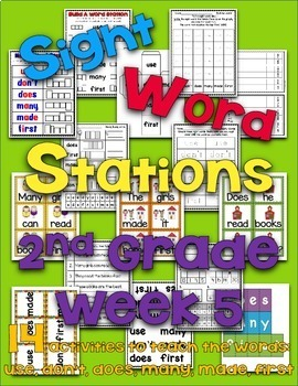Sight Word Stations {2nd Grade~5}