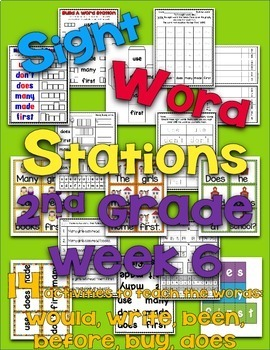 Sight Word Stations {2nd Grade~6}