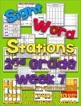 Sight Word Stations {2nd Grade~7}