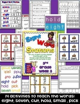 Sight Word Stations {3rd Grade~3}