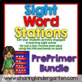 Sight Word Games & Stations {PrePrimer~Bundled}