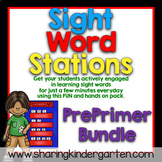 Sight Word Games & Stations {PrePrimer~Bundled}