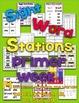 Sight Word Stations {Primer~1}