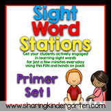 Sight Word Stations {Primer~1}