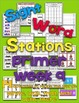 Sight Word Stations {Primer~9}