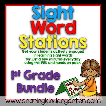 Sight Word Games Stations By Sharing