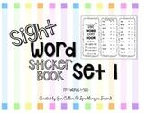 Sight Word Sticker Book Set 1
