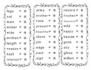 Sight Word Sticker Book Set 2