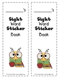 Sight Word Sticker Book- California 1st Grade Treasures