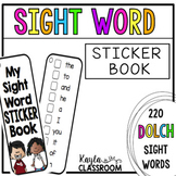 Sight Word Sticker Book [Dolch]