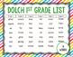 Sight Word Sticker Book Dolch 1st Grade