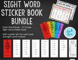 Sight Word Sticker Book Dolch Bundle