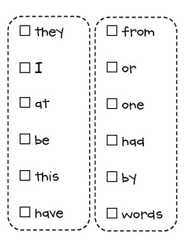 Sight Word Sticker Book:  {FRY's First 300 Words Version}
