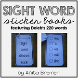 Sight Word Sticker Books   220 Dolch Words