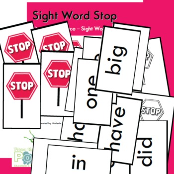 Sight Word Stop - Fun Card Game to Learn 100 Sight Words
