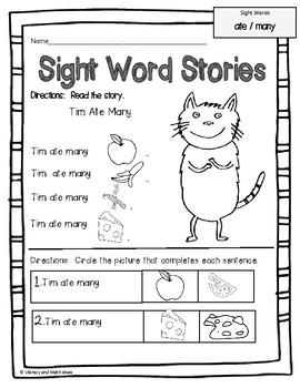 Word Stories &amp- Seatwork Activities - Book 2 (eBook)