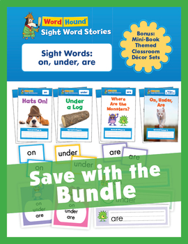 Sight Word Stories Mini Books: Bundle 1