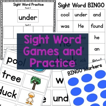 Sight Word Stories - Duck Was Hot - Preschool Reading and Sight Word Strategies