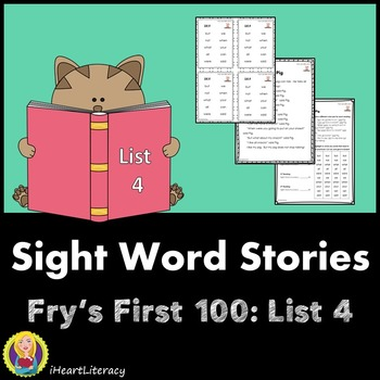 Sight Words Stories Fry's 1st 100 List 4