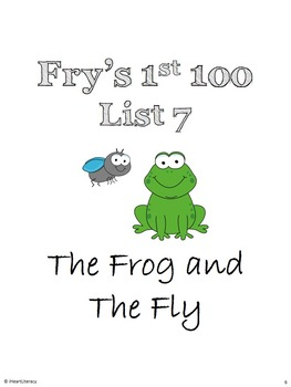 Sight Words Stories Fry's 1st 100 List 7