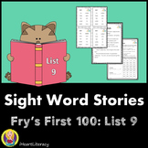 Sight Words Stories Fry's 1st 100 List 9