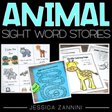 Sight Word Stories-I Like the Zoo-Preschool Reading and Si