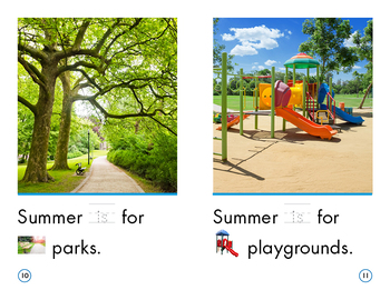 Sight Word Stories Mini Books: Hooray, Summer!