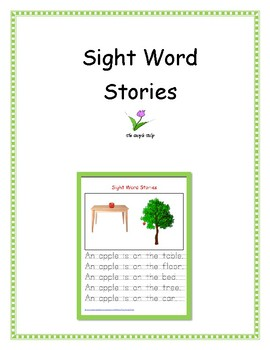 Sight Words and Handwriting Practice