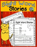 Sight Word Stories (Nine Reading Passages)