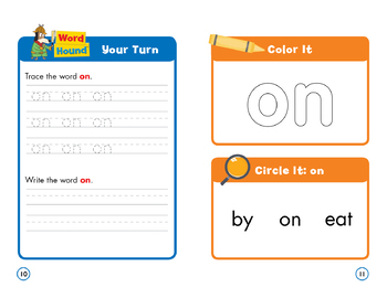 Sight Word Stories Mini Books: On