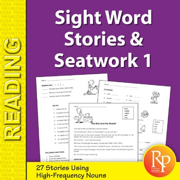 Sight Word Stories & Seatwork 1