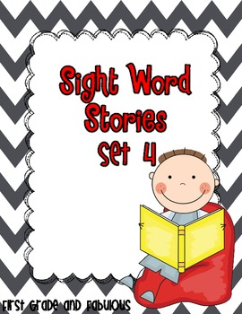 Sight Word Stories-Set 4