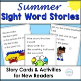 Sight Word Stories for Summer