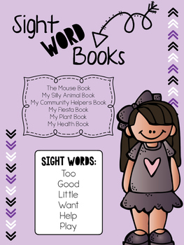 Sight Word Story Books