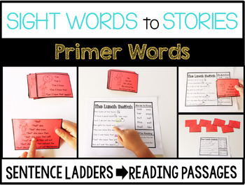 Sight Word Story Ladders COMBO