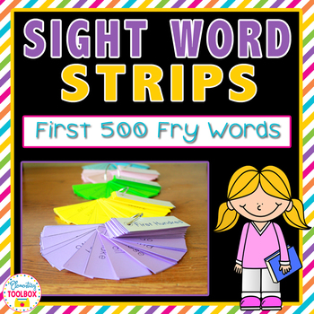 Sight Word Strips (First 500 Fry Words)