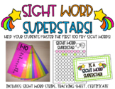 Sight Word Strips-Sight Word Superstars Bundle Fry 1-300