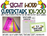 Sight Word Strips-Sight Word Superstars Fry 101-200