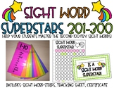 Sight Word Strips-Sight Word Superstars Fry 201-300