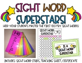 Sight Word Strips for Sight Word Superstars! Fry 1-100