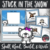 Sight Word Stuck in the Snow Activity