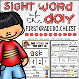 Word of the Day - First Grade