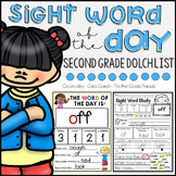 Word of the Day - SECOND GRADE